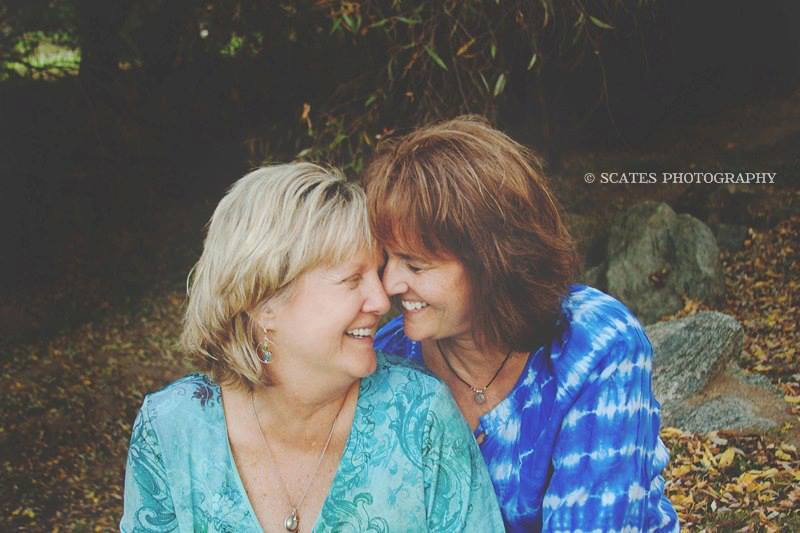 Gail and Mary